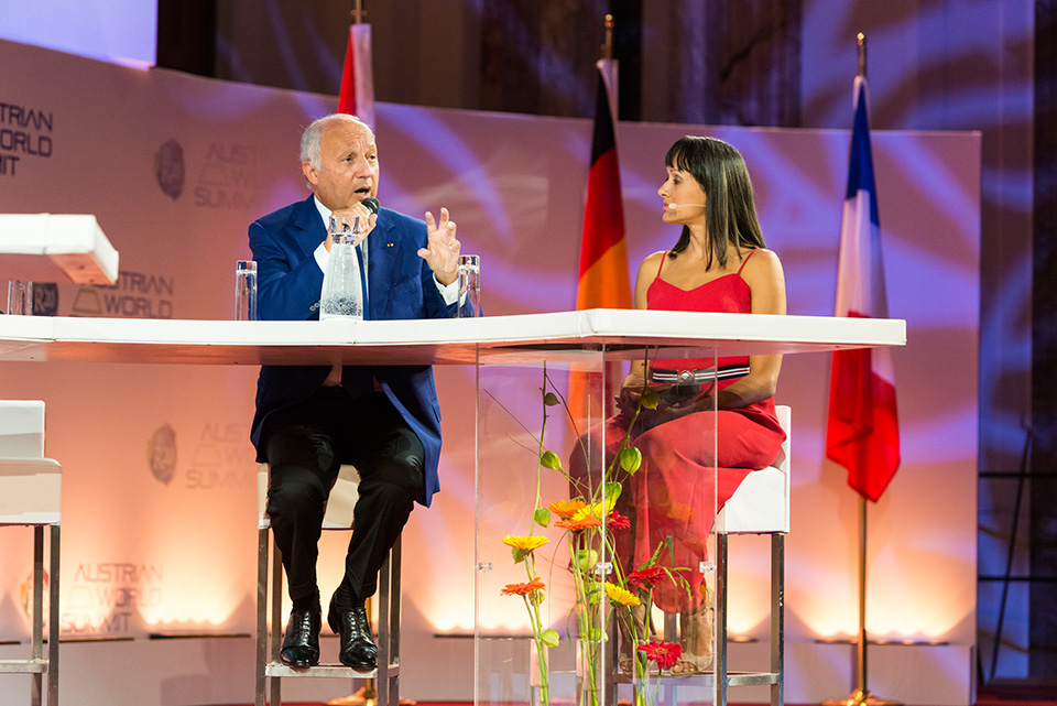 Laurent Fabius, President of COP21 in Paris